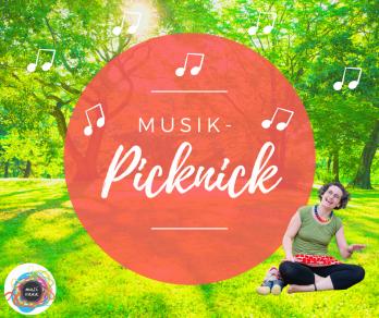 Musik Picknick Im Park