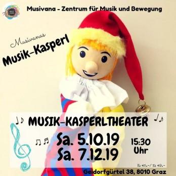 Musik Kasperl Musivana Herbst 2019 Graz