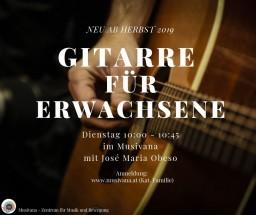 Gitarre Für Erwachsene Herbst Musivana