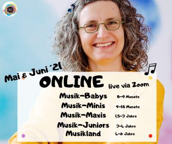 Online Kurse Mai,juni 2021 Musivana